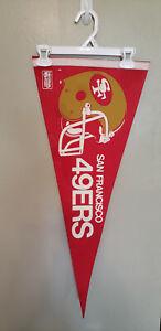 SAN FRANCISCO 49ERS  NFL VINTAGE PENNANT WITH HOLDER 5/31/21