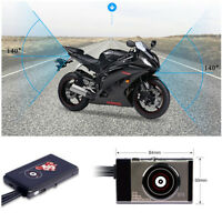 WiFi Motorcycle DVR Wide-angle Front 1080P Full HD&Rear 720P HD View Dual Camera