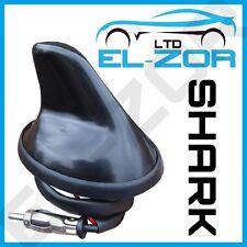 12v Negro aleta de tiburón antena Aero coche antena GPS radio de AM FM mástil Techo