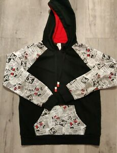 Disney Mickey Times Black Hoodie pullover Small