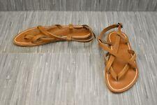 **K.Jacques Aubigne Sandal, Women's Size 7.5/EU 39, Tan NEW