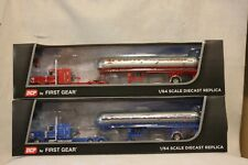 1:64 DCP ACCORD TRANSPORTATION SET RED & BLUE PETERBILT