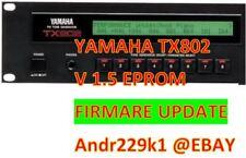Yamaha TX802 - Version 1.5 Update Upgrade *Latest OS Firmware*