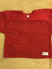 Russel Athletic Mens xL Red Open Weave Sporrt Jersey