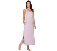 AnyBody Loungewear Cozy Knit Maxi Dress Size M  BLACK Color