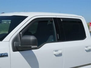 Side Window Deflector For 2020-2021 Ford F350 Super Duty Crew Cab Pickup M259WP