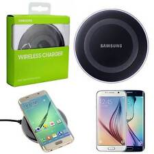 CARICABATTERIA WIRELESS PAD SAMSUNG ORIGINALE per GALAXY S6, EDGE NERO EP-PG920I