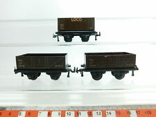 bi629-0,5 # 3 x TTR / Trix Twin railways H0 / DC vagones CHAPA : 33550+53084