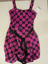 Ruby Rox dress girls size 8 fushia black New with Tags