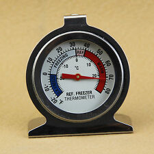 Stainless Steel Temp Refrigerator  Freezer Dial Type Stainless Thermometer