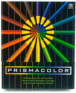 Prismacolor Professional Artist Colored Pencils 120 Colors Easel Box USA Version