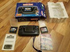 Sega Game Gear - The Sonic 2 System - CIB Genesis NES SNES N64 VGA PS1 PS2 AFA