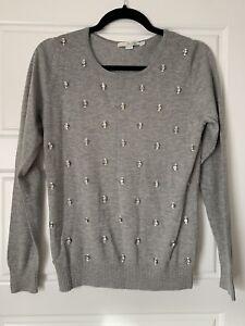 Boden women's jumper - Size 10 - grey - Brand new