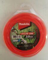 Makita Nylon Line - Brush Cutter, Whipper Snipper, Line Trimmer 3.0mm x 28m