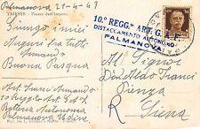 C4643) WW2 BOLLO 10 REGGIMENTO ARTIGLIERIA GAF DISTACCAMENTO DI PALMANOVA.
