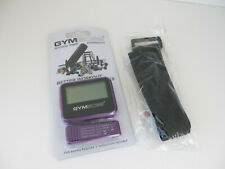GYMBOSS interval timer & stopwatch. Purple BNIP including wrist band also new