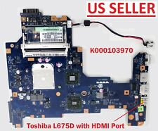 K000103970 AMD Motherboard Toshiba L670D L675D Laptop,LA-6053P Rev:1,US Loc A