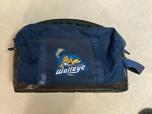 TOLEDO WALLEYE ECHL HOCKEY TEAM ISSUED TOILETRY BAG - USED