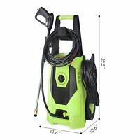 3000 PSI 1.8GPM Home Electric Pressure Washer High Power Water Cleaner Machine