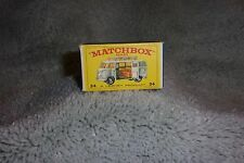 1960`s Lesney Matchbox ,VW VOLKSWAGEN Camper  MINT in box all ORIGINAL # 34