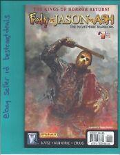 Freddy vs Ash Nightmare Warriors #1 Jason variant 2009 Wildstorm Dynamite Vf/Nm