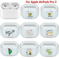 Per AirPods Pro 3 Bluetooth Earphone Case Cover Cartoon Slim Custodia Protettiva