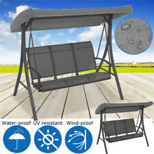New Waterproof Swing Canopy Tent Porch Top Cover Swing Roof Garden Chair