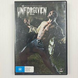 Unforgiven 2008 DVD - WWE - Region 4 NTSC - TRACKED POST