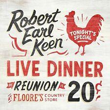 NEW Robert Earl Keen - Live Dinner Reunion (Double Red Vinyl LP, 2017)
