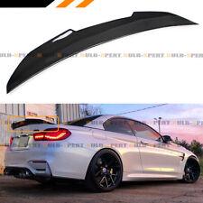 FOR 2014-2018 BMW F33 F83 M4 CONVERTIBLE CARBON FIBER PSM HIGHKICK TRUNK SPOILER