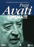Pupi Avati - Cinema!!! - Cofanetto Con 3 Dvd - Nuovo Sigillato