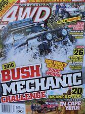 Australian 4WD Action Magazine No 248 * New * 2016 Bush Mechanic Challenge