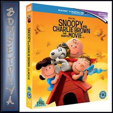 SNOOPY AND CHARLIE BROWN THE PEANUTS MOVIE *BRAND NEW BLURAY**