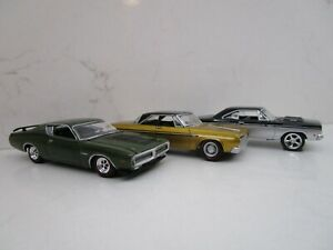 Greenlight Muscle Car Plymouth Fury Road Runner Dodge Charger Street Hot Rod LOT