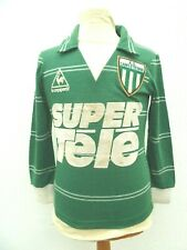 Maillot AS St Etienne 1980 authentique