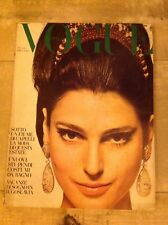 VOGUE ITALIA MAGGIO 1968 STRAISAND ROMAN POLANSKI DEVEUVE VAN CLEEF ARDEN