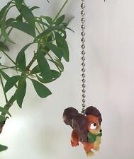 "Disney Mickey Mouse ""FIFI"" Pet Dog Light-Lamp-Fan Pull Chain 2"" PVC Figurine New"