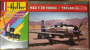 Heller North American T-28 Fennec/Trojan Model Kit Gift Set New & Sealed 1:72