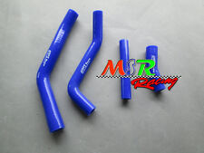 for 2010 2011 2012 YAMAHA YZ450F YZF450 Silicone Radiator Hoses Kit blue