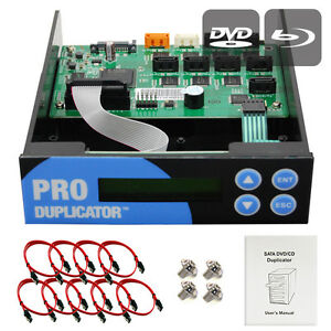Produplicator 1-2-3-4-5-6-7 Blu-ray CD/DVD/BD SATA Duplicator Copier CONTROLLER
