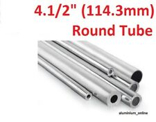 ALUMINIUM ROUND TUBE 4.1/2 (114.3mm) 1 thickness, lengths up to 2500mm 2.5m