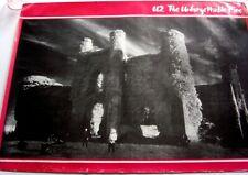 U2 1984 original Record Shop Poster The Unforgettable Fire Brian Eno