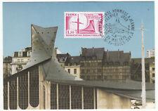 CARTE MAXIMUM FDC 1979 TIMBRE N° 2051 MONNUMENT HOMMAGE A JEANNE D ARC