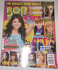 Bop Magazine Selena Gomez Justin Beiber December 2011 090414R