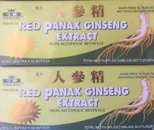 RED PANAX GINSENG EXTRACT 1 BOX 30 BOTTLES 1 Month Supply EXTRA STRENGTH 6000MG