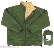 NEW Military Issue Thermal Reversible Green / Sand Bivi Jacket - EXTRA LARGE