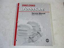 2002 2003 Johnson outboard motor factory service manual 3.5 6 8 hp 5005466