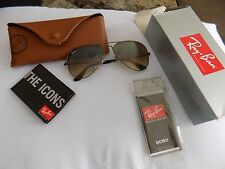 Ray Ban RB3025 Aviator Sunglasses-004/51 Gunmetal Light Brown Gradient 58mm