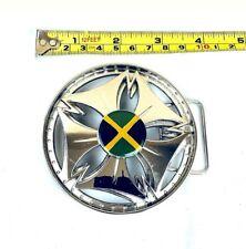 Spinner Bullet FLAG Belt Buckle Silver High Quality Turn fast! MEN WOMEN R-11