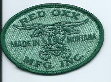 Red Oxx Mfg Inc Made in Montana Patch 2-1/4 X 3-1/4 #1669